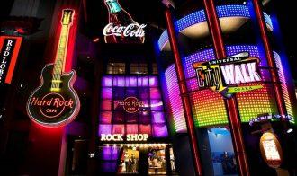 Hard Rock Cafe Universal Citywalk Osaka Japan Best Restaurant